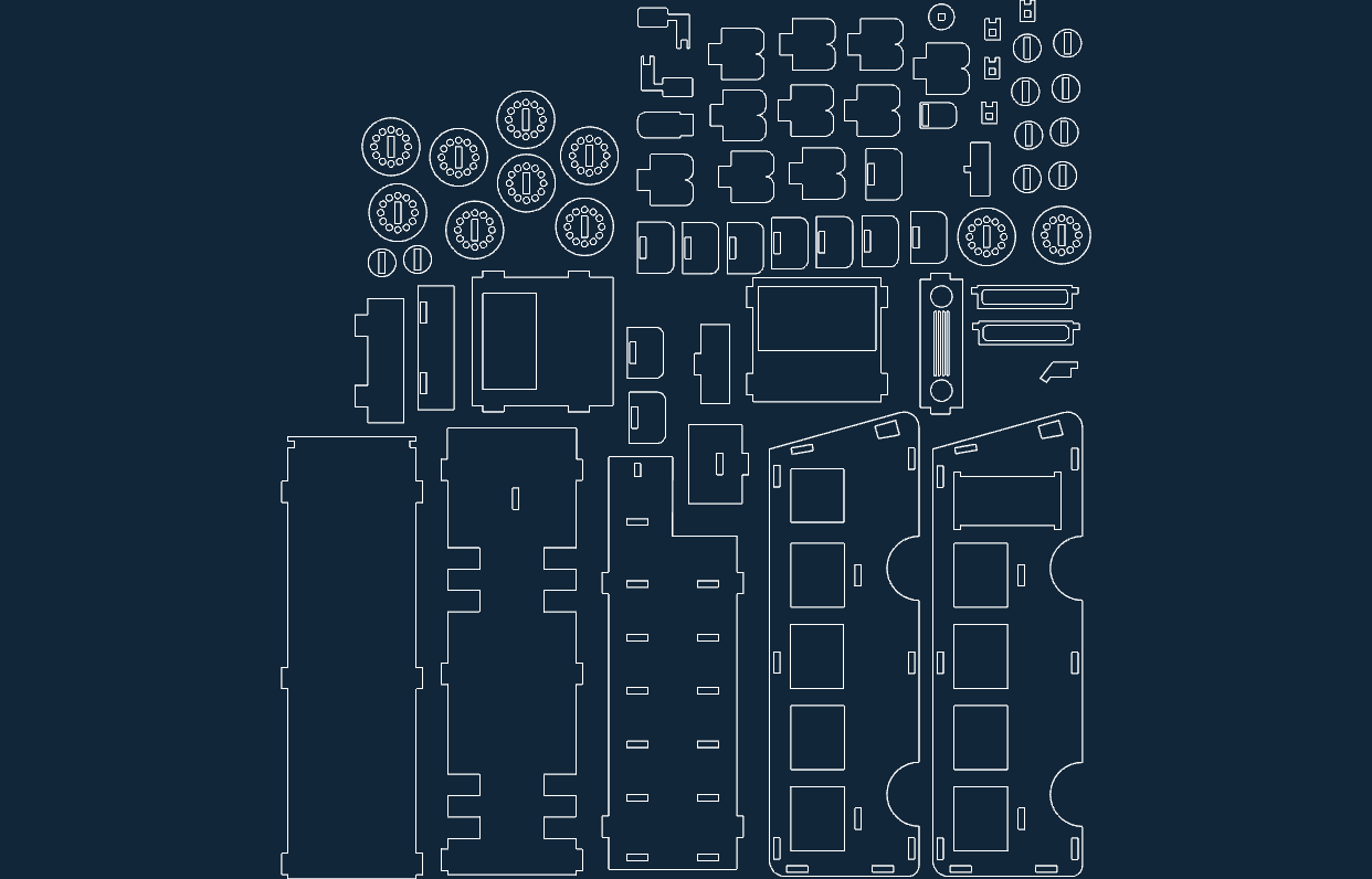 Bus File .DXF Format