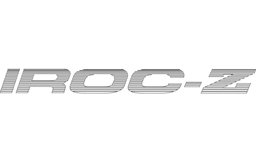 iroc-z (b) Free Eia for CNC