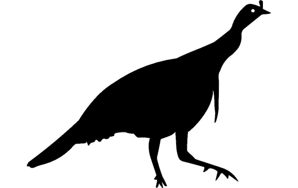 birds silhouette 2 Free Eia for CNC