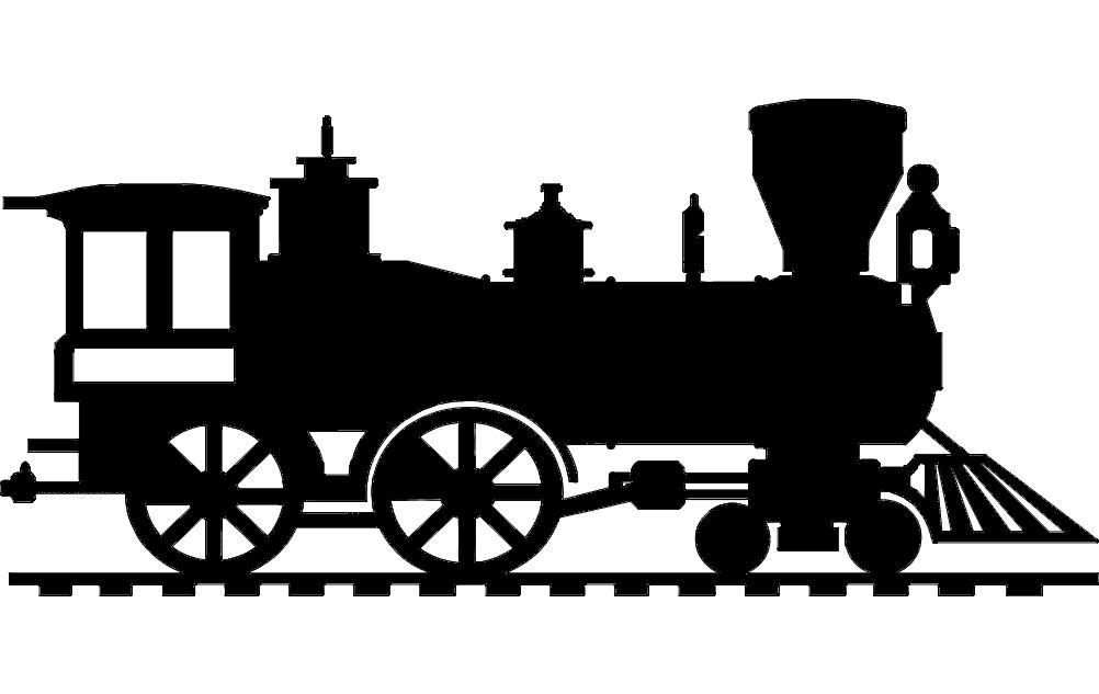 steam locomotive Free Eia for CNC