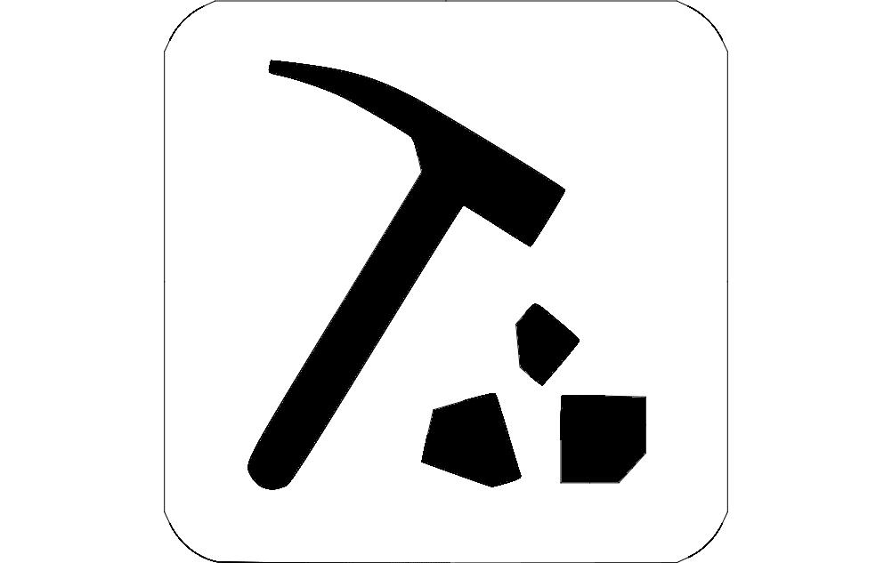 pickhammer Free Dxf for CNC