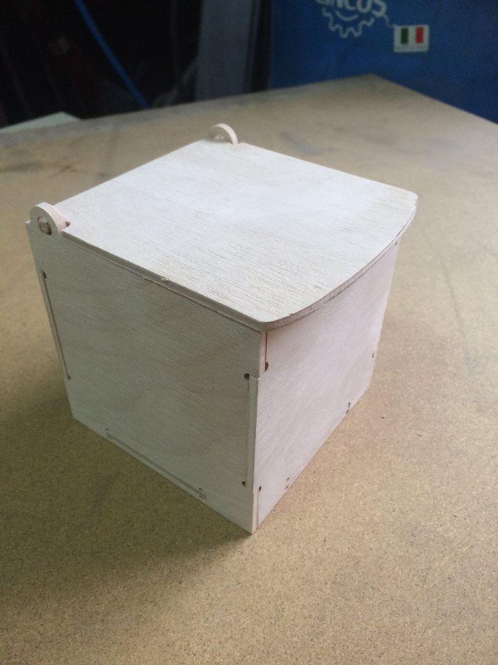 cutie 100 x 100 x 100 Free Dxf for CNC