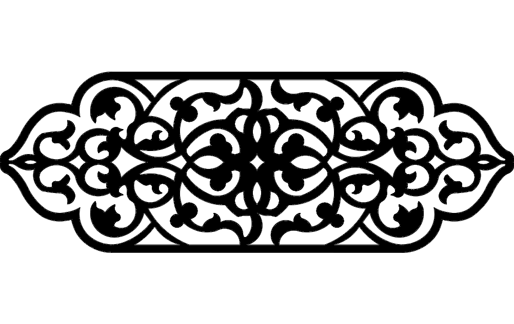 grille design 7 Free Gcode .TAP File for CNC