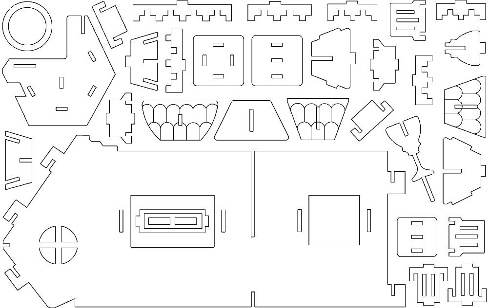 fantasy villas 1 Free Gcode .TAP File for CNC