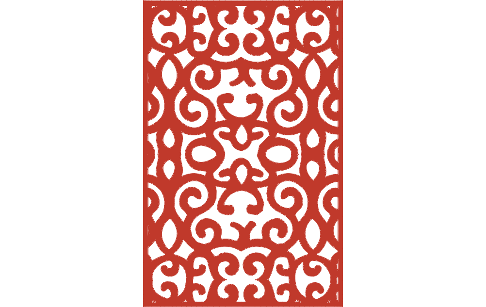 ornamental panel 4 Free Dxf File for CNC