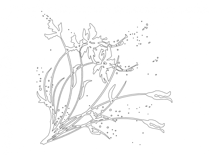 floral pattern Free Dxf File for CNC