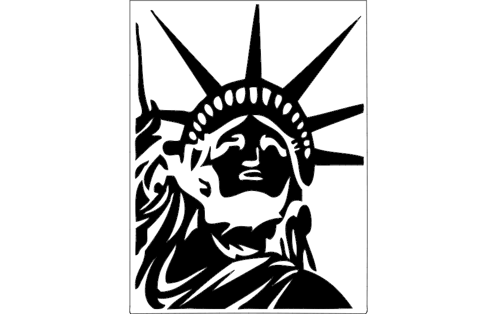 liberty Free Dxf File for CNC