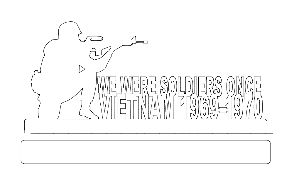 vietnam 69-70 Free Dxf File for CNC