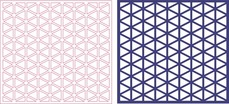 jali screen pattern Free Dxf File for CNC