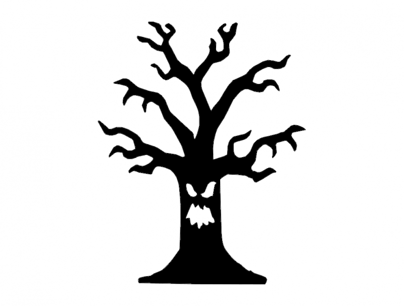 halloween 1 Free Dxf File for CNC