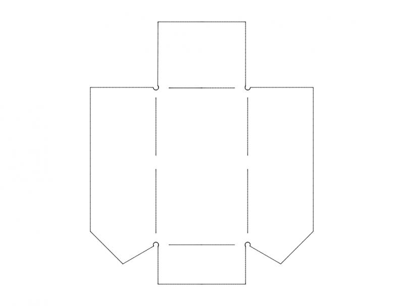 bolt box Free Dxf File for CNC