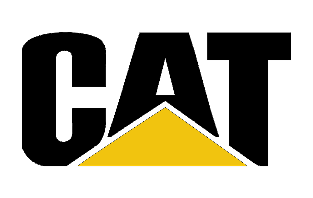 caterpillar cat logo Free Dxf File for CNC