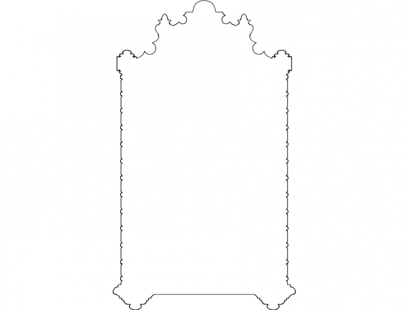 ornament deco Free Dxf File for CNC