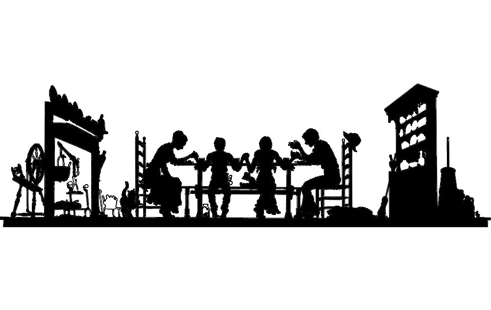 giving thanks Free Dxf File for CNC