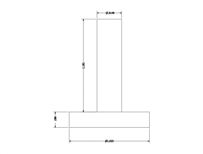 drawing with dimentions Free Dxf File for CNC